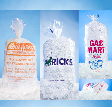 home ice bags customized bags customized ice bags